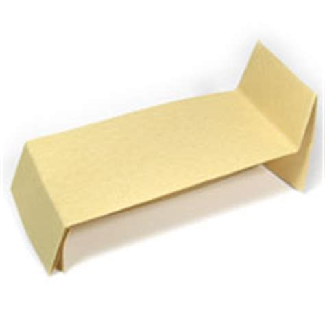 how to make a origami bed how to make origami beds
