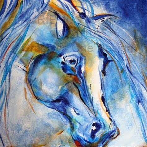 acrylic paint artiste blue boy acrylic glazes equine contemporary