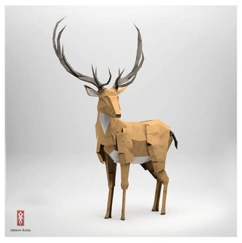 origami reindeer origami paper deer origami