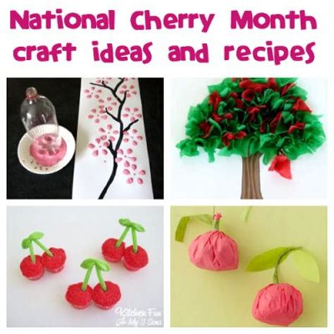 february crafts february is national cherry month family crafts