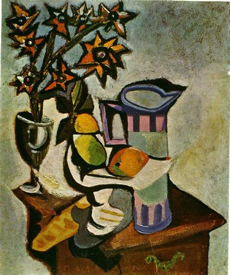 picasso paintings fruit 유 still brushstrokes 유 nature morte painting by pablo