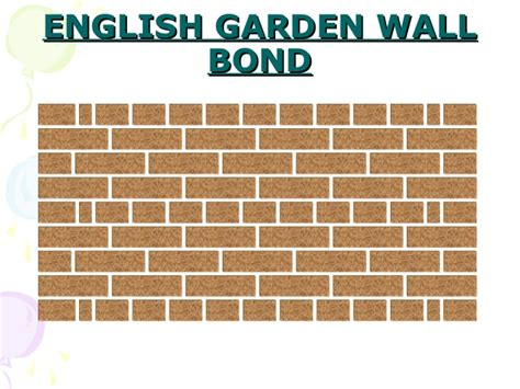 garden wall bond brickwork brickwork bonding basics