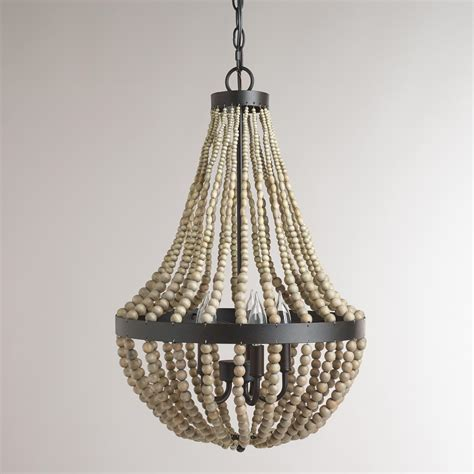 how to make a bead chandelier popular on small wood bead chandelier