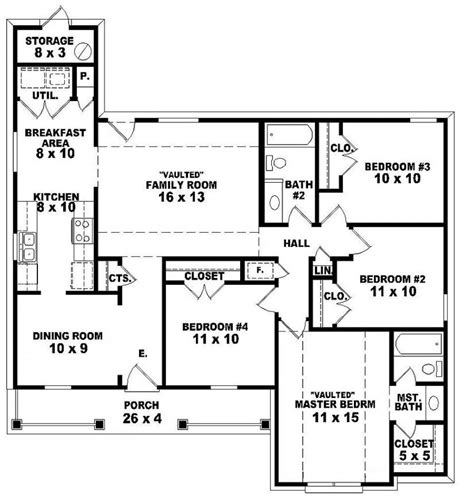 8 bedroom house floor plans 2 bedroom one story homes 4 bedroom 2 story house floor