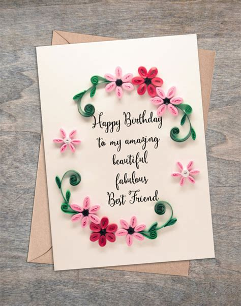 how do you make a birthday card birthday cards for best friends lilbibby