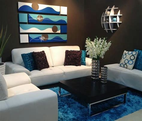 blue and brown home decor 17 best images about brown and blue living room ideas on