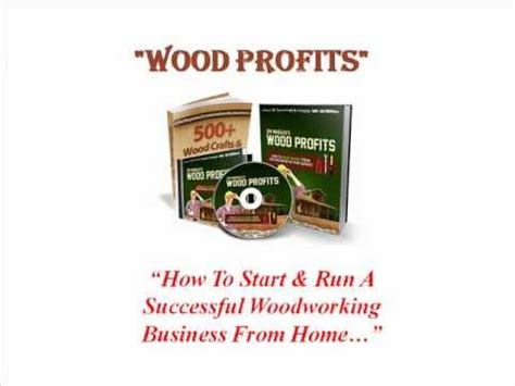 how to start a woodworking business woodprofits 174 how to start a woodworking business from home