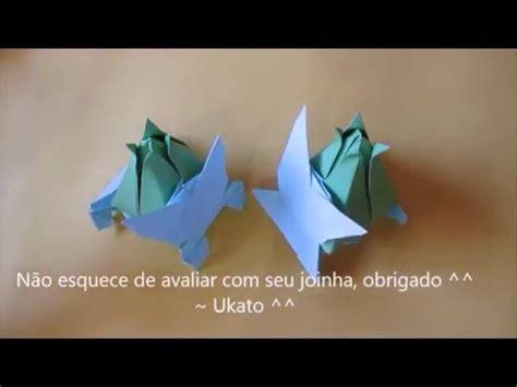 how to make origami bulbasaur bulbasaur de origami