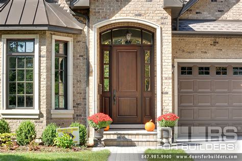 wood exterior front doors custom 2 panel solid mahogany entry door with 2 sidelites