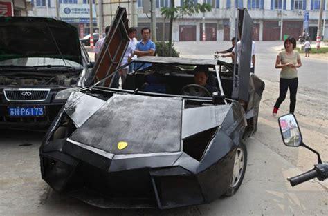 Chinese Mechanic Builds Lamborghini Replica For $9,500