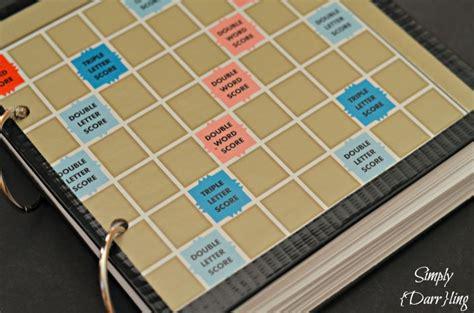 scrabble book of words scrabble alphabet book simply darr