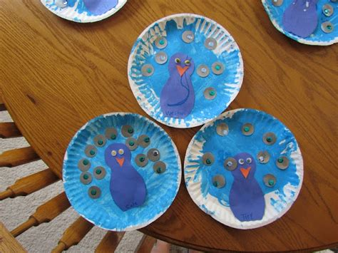 peacock paper plate craft peacock paper plate craft teaching animals and research