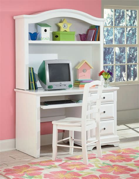student desk with hutch bayfront white student desk with hutch from new classics