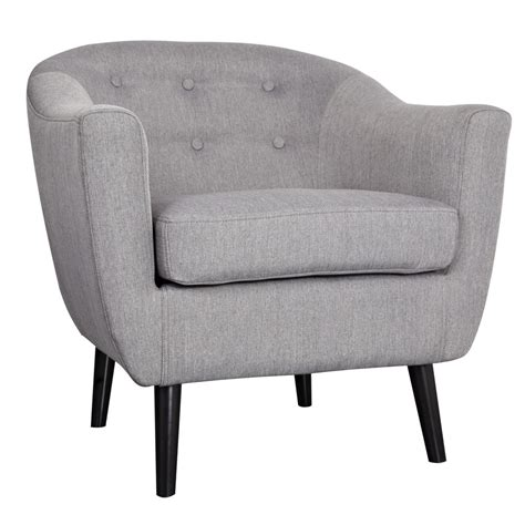 gray living room chair nspire overlea accent chair grey canada at shop