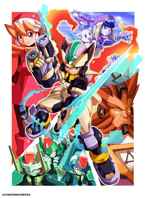 megaman zx megaman zx3 by ultimatemaverickx on deviantart