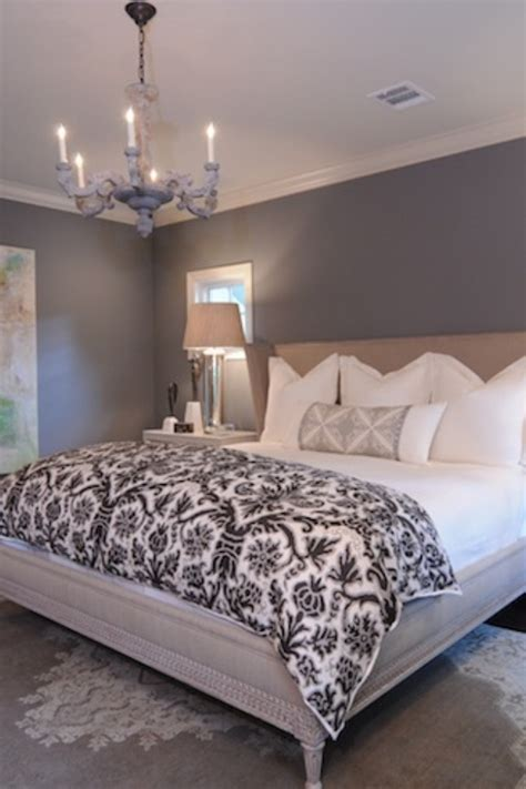 paint color for quilt room grey paint on the walls white bedding clean and simple