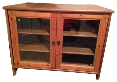entertainment cabinets with doors ikea leksvik solid pine tv cabinet with glass doors