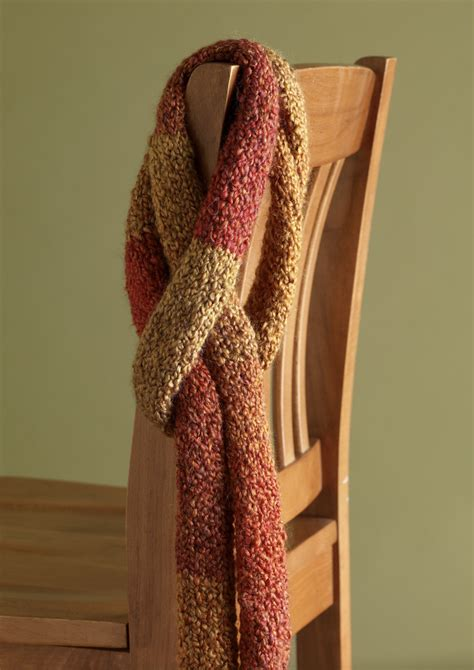homespun yarn scarf pattern knit afghan scarf in brand homespun 90052ad