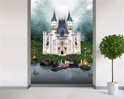castle wall mural fair 90 castle wall mural decorating inspiration of