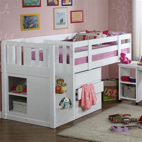 mid sleeper bunk beds children s neutron mid sleeper single cabin bunk bed