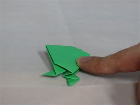 origami jumping frog learn the of origami everywhere
