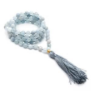Aquamarine Mala Satya Jewelry