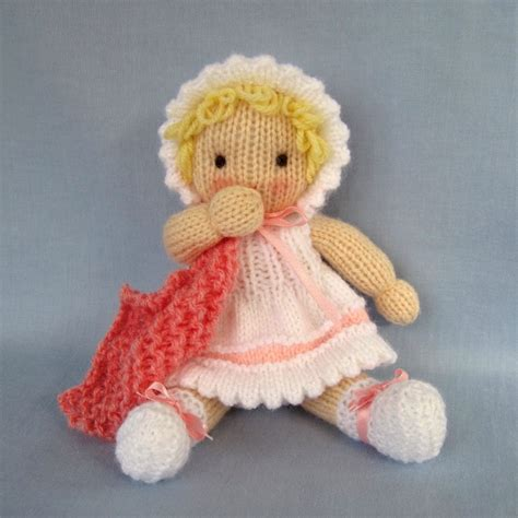 free knitting patterns of toys knitted baby doll pdf email knitting