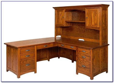 corner computer desk with hutch solid wood corner computer desk with hutch desk home