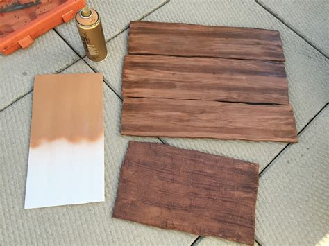 spray painting wood how to make a wood grain effect manning makes stuff