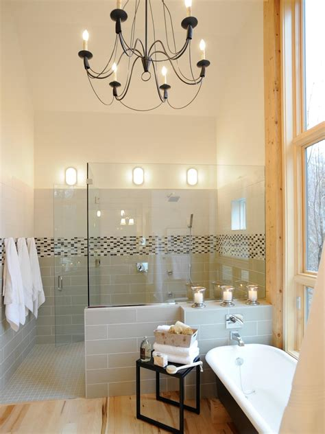 bathroom chandelier lighting ideas 13 dreamy bathroom lighting ideas bathroom ideas designs hgtv