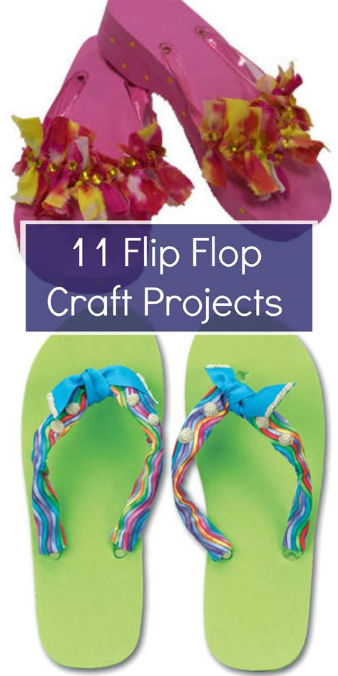 flip flop craft projects 11 flip flop craft projects favecrafts