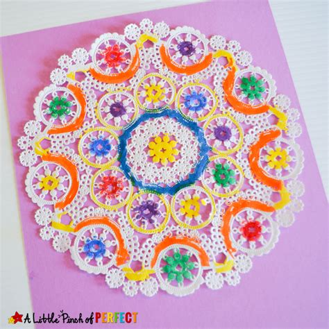 doily crafts for beautiful easter egg doily craft for inspired by