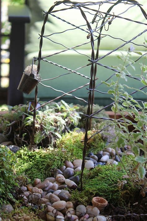 Garden Arch Parts Diy Miniature Tabletop Garden
