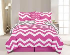 chevron comforter sets 6 chevron pink comforter set