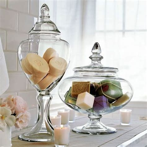 Bathroom Apothecary Jar Ideas filling up the apothecary jar ideas and inspiration