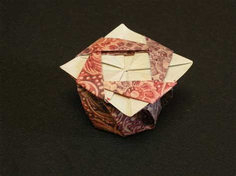 origami tato box octagonal tato box from a square of carta varese my