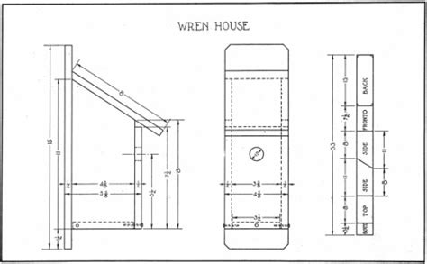 house wren birdhouse plans step by step woodyworking more bird house plans for house