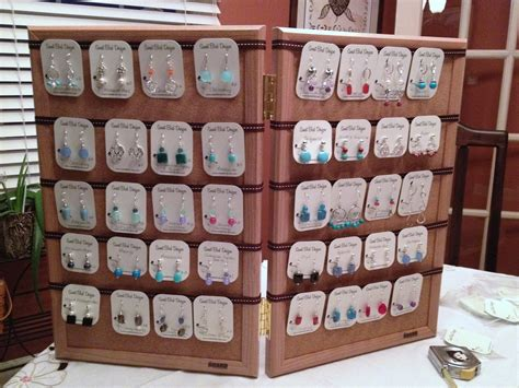 how to make jewelry displays for craft shows birdy chat diy craft show earring display