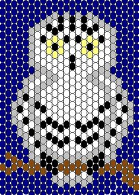 owl pony bead pattern 68 best images about sch 233 gratuits free bead patterns