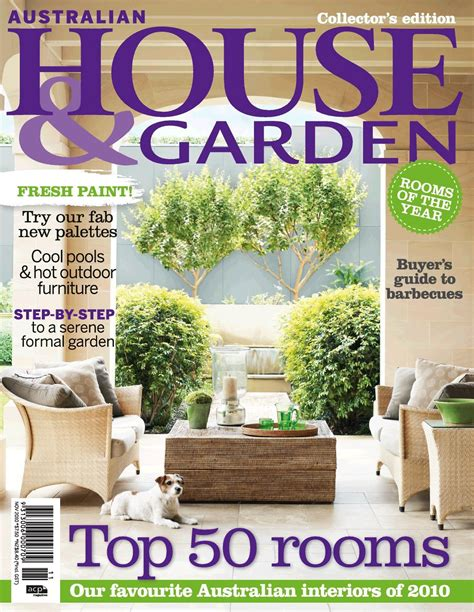 house and home magazine top 50 rooms of 2010 featured in november issue of