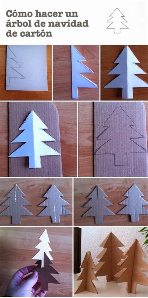 como hacer un arbol de navidad de c 243 mo hacer un 225 rbol para navidad de cart 243 n manualidades