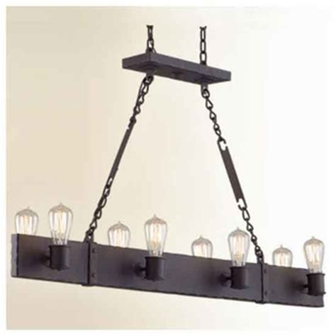 wrought iron pendant lights kitchen troy f2506cb jackson 8 light wrought iron kitchen island