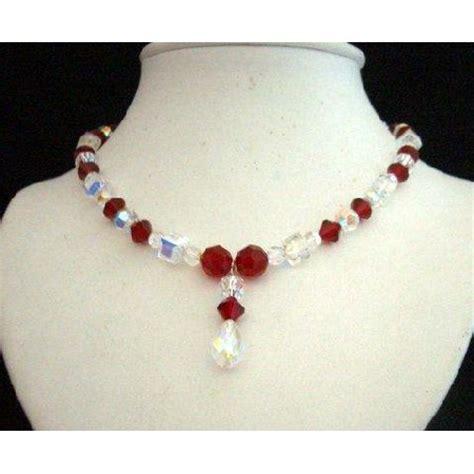how to make swarovski jewelry swarovski ab siam ab crystals drop pendant