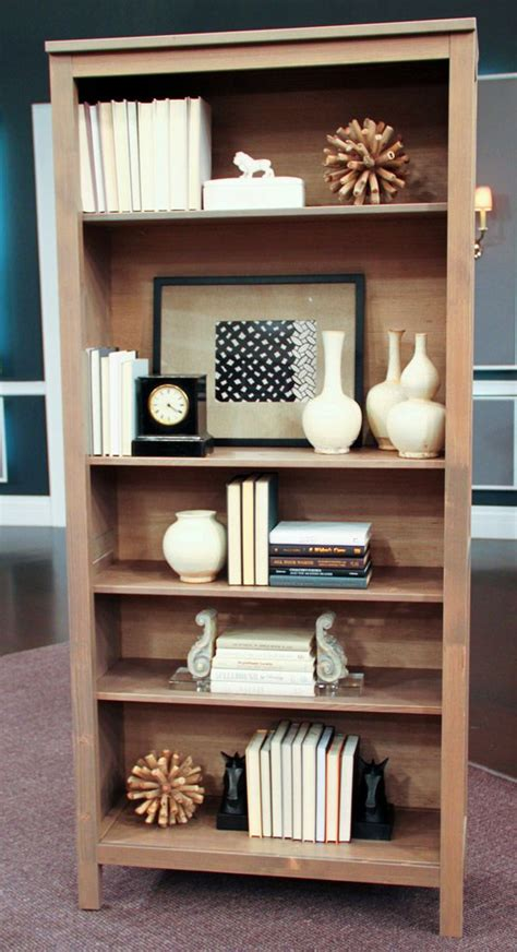ideas for decorating bookshelves how to style a bookcase steven and chris