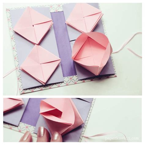 Origami Thread Book Tutorial Crafty Amino