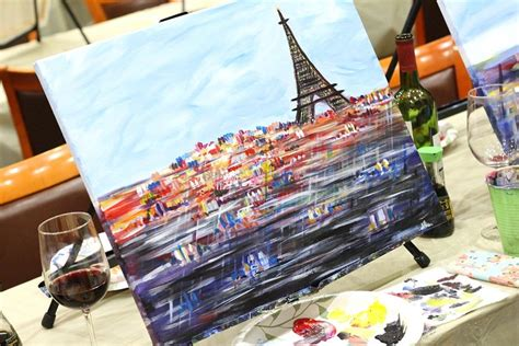 paint nite instagram paint nite review peachfully chic