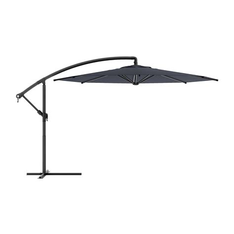 patio umbrella lowes corliving ppu 4 offset patio umbrella lowe s canada