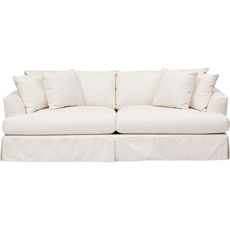 white slipcover for sofa andre slipcover sofa furniture sofas fabric