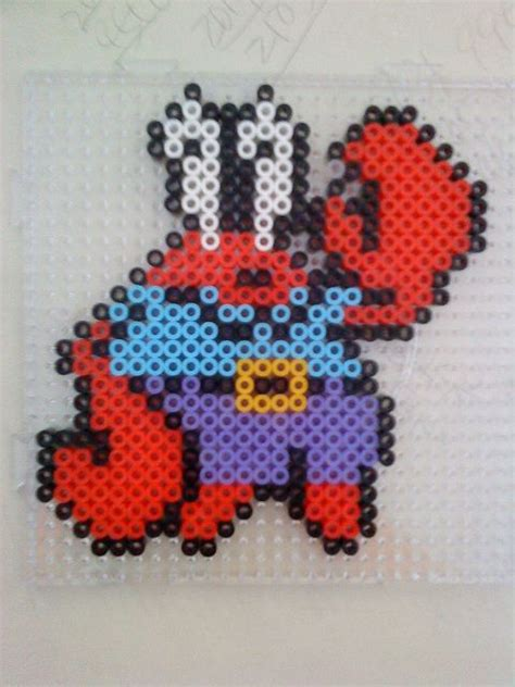 spongebob perler 25 best images about spongebob hama on