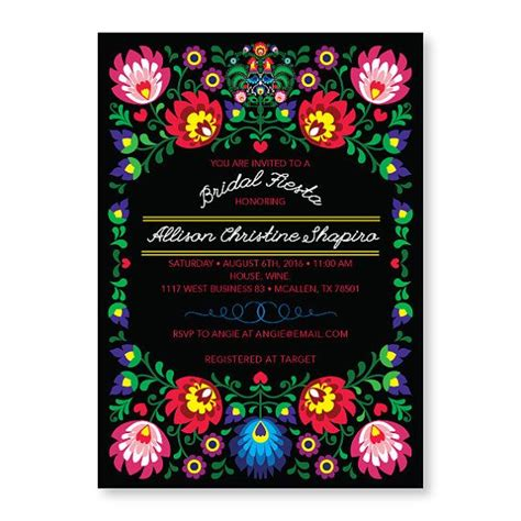 25 best ideas about mexican wedding invitations on